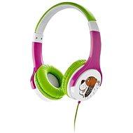 Gogen Maxi slechy G růžovo-zelená - Sluchátka