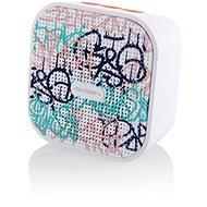 Gogen BS 034 STREET G bílo-růžový - Bluetooth reproduktor