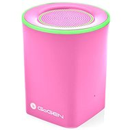 Gogen BS 074P růžový - Bluetooth reproduktor