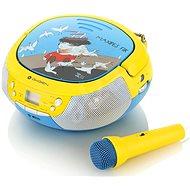 Gogen Maxi přehrávač B modro-žlutý - Radiomagnetofon