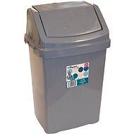 Wham Koš odpadkový 50l stříbrný 11755 - Odpadkový koš