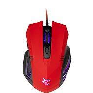 White Shark HANNIBAL-2 RED - Herní myš