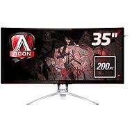 "35"" AOC AG352QCX - LCD monitor"
