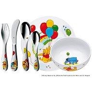 """WMF 1283509964 """"Medvídek Pú"""" ©Disney 6ks - Dětská jídelní sada"""