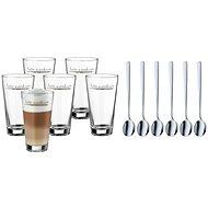 WMF 996269999 Set na Latte Macchiato, sklenice + lžičky 6ks - Sada sklenic