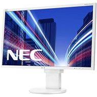 "24"" NEC MultiSync LED EA244WMi bílý - LCD monitor"