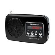 Orava RP-130 černý - Rádio