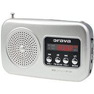 Orava RP-130 S stříbrný - Rádio