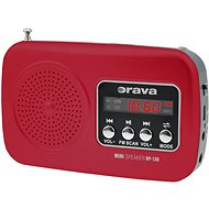 Orava RP-130 R red - Radio