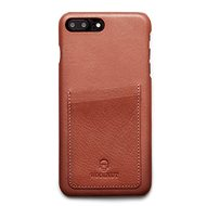 Woolnut Wallet Case pro iPhone 7+/ 8+ Cognac - Pouzdro na mobilní telefon