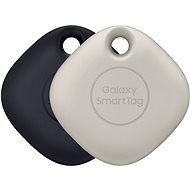 Bluetooth lokalizační čip Samsung Chytrý přívěsek Galaxy SmartTag (balení 2 ks) černá & oatmeal