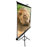 "ELITE SCREENS mobile tripod 113"" (1:1) - Projection Screen"