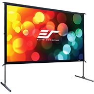 "ELITE SCREENS, Mobile Outdoor Tripod 180"" (16:9) - Projection Screen"