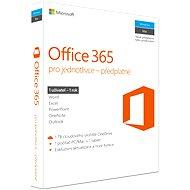 Microsoft Office 365 pro jednotlivce CZ - Kancelářský balík