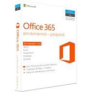 Microsoft Office 365 pro domácnosti CZ - Kancelářská aplikace