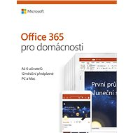 Microsoft Office 365 Home Premium - Elektronická licence