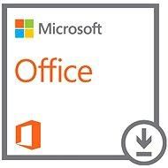 Microsoft Office Standard 2016 SNGL OLP - Elektronická licence