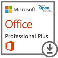 Office Pro Plus SNGL LicSAPk OLV NL 1Y AqY1 AP Licence/Software Assurance Pack - Elektronická licence