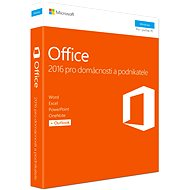 Microsoft Office 2016 pro domácnosti a podnikatele CZ - Kancelářská aplikace