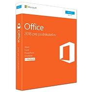 Microsoft Office 2016 Home and Business SK - Kancelářská aplikace