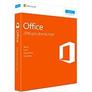 Microsoft Office 2016 pro domácnosti - Kancelářská aplikace