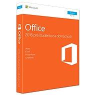 Microsoft Office 2016 Home and Student SK - Kancelářský balík