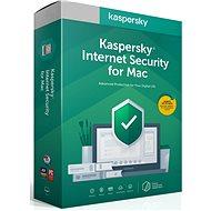 Kaspersky Internet Security obnova pro Mac (elektronická licence)