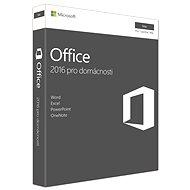 Microsoft Office 2016 pro domácnosti pro MAC CZ - 1 uživatel/ 1 počítač - Kancelářský balík