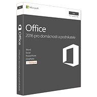 Microsoft Office 2016 pro domácnosti a podnikatele pro MAC CZ - 1 uživatel/ 1 počítač - Kancelářský balík