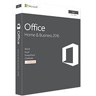 Microsoft Office Home and Business 2016 ENG pro MAC - 1 uživatel/ 1 MAC - Kancelářská aplikace