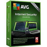 AVG Internet Security Unlimited - pro neomezeně zařízení na 12 měsíců (BOX)