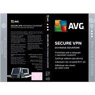AVG Secure VPN pro 5 zařízení na 12 měsíců (BOX) - Internet Security
