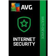 AVG Internet Security Multi-Device pro 10 zařízení na 12 měsíců (elektronická licence) - Internet Security