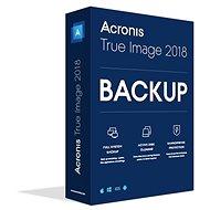 Acronis True Image 2018 CZ pro 1 PC - Zálohovací software