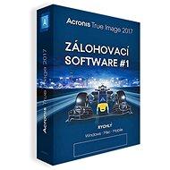 Acronis True Image 2018 CZ pro 5 PC (elektronická licence) - Zálohovací software