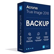Acronis True Image CZ Upgrade for 1 PC from OEM (Electronic License) - Backup Software