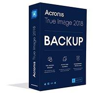 Acronis True Image 2018 CZ Upgrade pro 5 PC (elektronická licence) - Zálohovací software