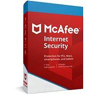 McAfee Internet Security pro 10 zařízení na 12 měsíců (elektronická licence) - Internet Security