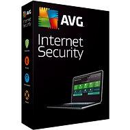 AVG Internet Security pro 1 počítač na 12 měsíců - Bezpečnostní software