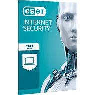 ESET Internet Security pro 1 počítač na 12 měsíců (BOX) - Bezpečnostní software