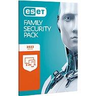 ESET Family Security Pack pro 3 počítače a 3 mobilní zařízení na 12 měsíců (elektronická licence) - Bezpečnostní software