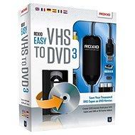 Easy VHS to DVD 3 EN/FR/DE/ES/IT/NL - Software