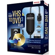 Easy VHS to DVD 3 Plus EN/FR/DE/ES/IT/NL (BOX) - Vypalovací software