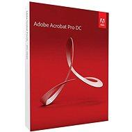 Adobe Acrobat Pro 2017 CZ BOX - Software