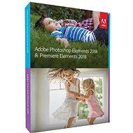 Adobe Photoshop Elements + Premiere Elements 2018 CZ Student & Teacher - Software