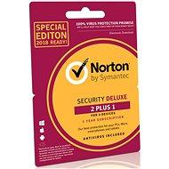 Symantec Norton Security Deluxe 3.0 CZ, 1 uživatel, 3 zařízení, 12 měsíců, Retail - BOX - Antivirus
