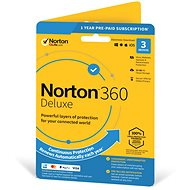 Symantec Norton 360 Deluxe 25GB CZ, 1 uživatel, 3 zařízení, 12 měsíců (elektronická licence)