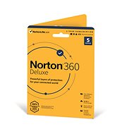 Norton 360 Deluxe 50GB CZ, 1 uživatel, 5 zařízení, 12 měsíců (elektronická licence)