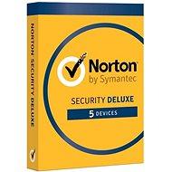Norton Security Deluxe CZ 1 uživatel na 5 zařízení na 18 měsíců (elektronická licence)