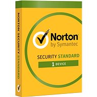 Symantec Norton Security Standard 3.0 CZ, 1 user, 1 device, 12 months (electronic license) - Electronic license